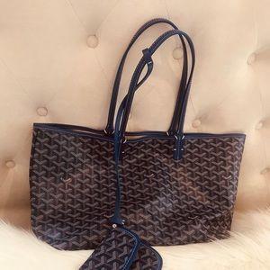Goyard bag blue